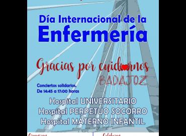 Conciertos por el Día Internacional de la Enfermería