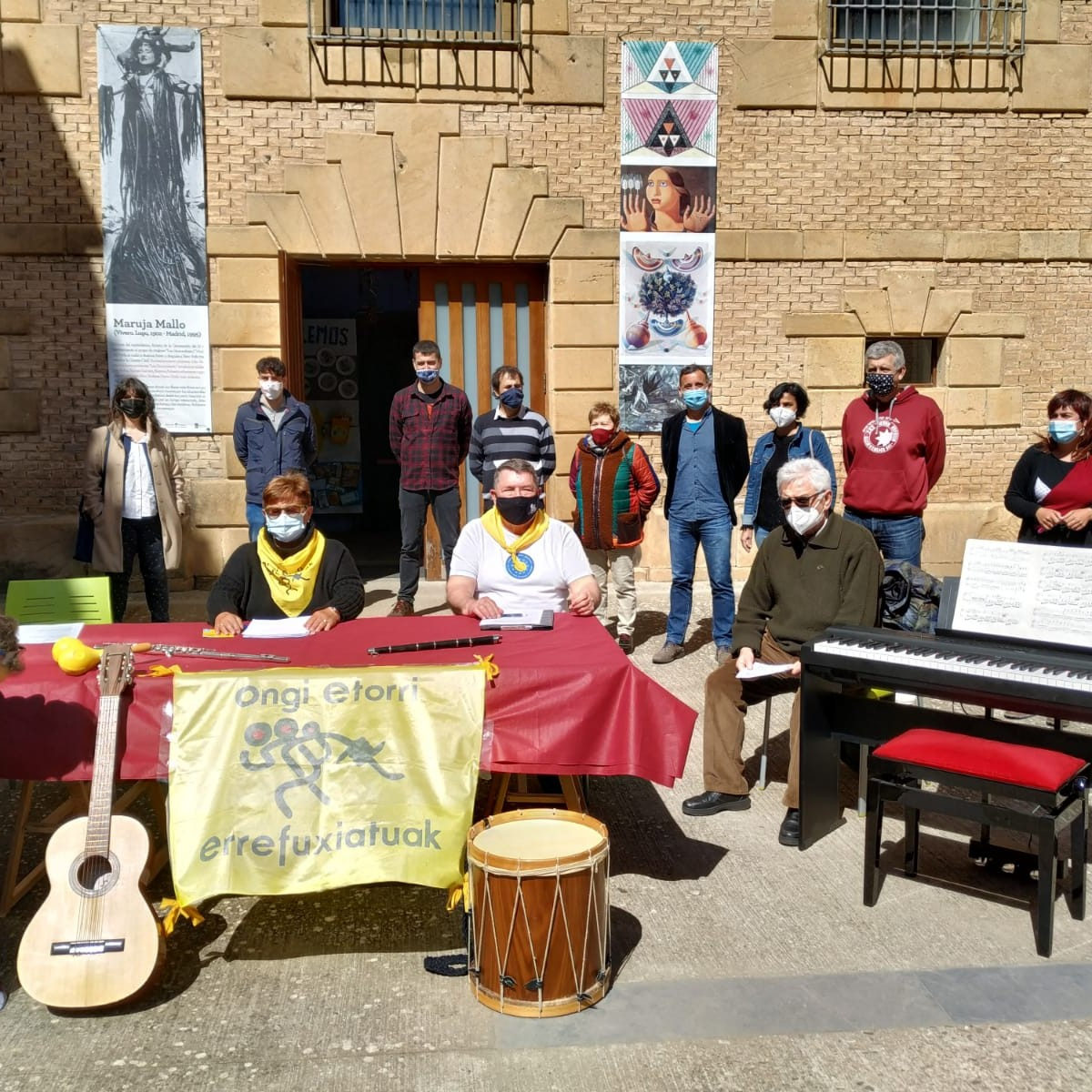 Recogida de Instrumentos en Estella